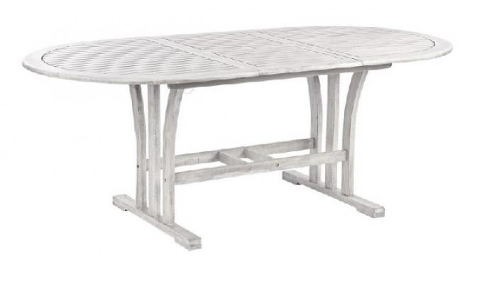 Tavolo da giardino in legno anticato di Pratiko