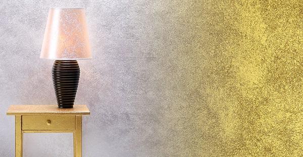 Pittura effetto dorato grimani di colorificio san marco - Nuove pitture decorative per interni ...