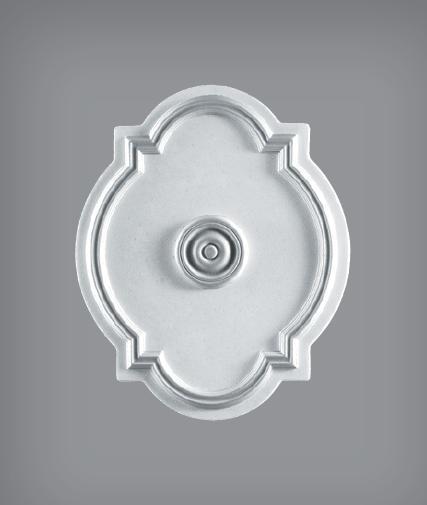Rosone ovale in polistirolo di Bovelacci