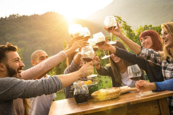 Degustazione buon vino