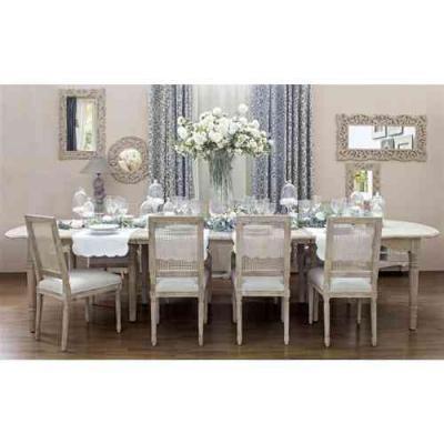 Tavolo ovale provenzale di Etnicoutlet