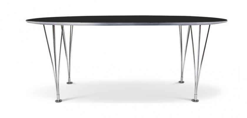 Tavolo Super Ellisse in legno di Myfaktory