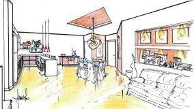 Zona giorno: progettazione degli spazi
