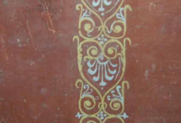 Dipinto pompeiano rifinito a encausto.
