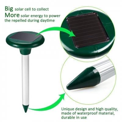 Scaccia talpe ultrasonico solare