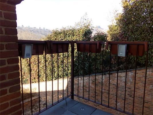 Sistemi allarmi Silentron rilevatori su recinzioni