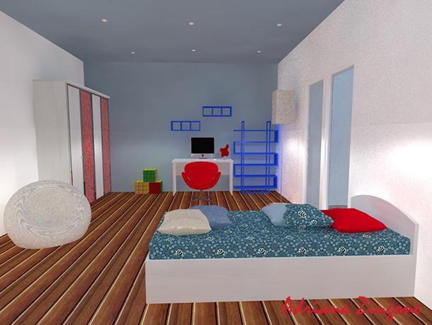 Camera Da Letto Da Bambino : Trasformazione cameretta bimbo in stanza per adolescenti