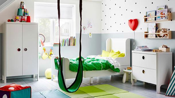 Trasformazione cameretta bimbo in stanza per adolescenti - Ikea mobili camera bambini ...