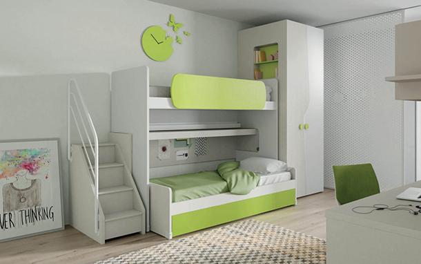 Trasformazione cameretta bimbo in stanza per adolescenti - Soluzioni camerette piccole ...
