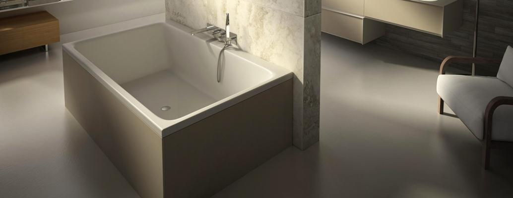 Progettare una vasca da bagno - Piccola vasca da bagno ...