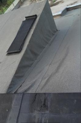 Manutenzione coperture: rigonfiamento guaina