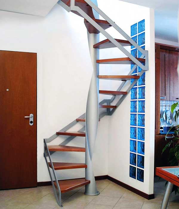 Progettare una scala a chiocciola - Progettare scala interna ...