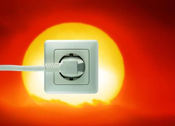 Più energia solare e meno energia artificiale