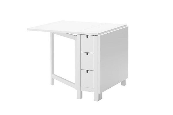 Tavolo Norden bianco di Ikea