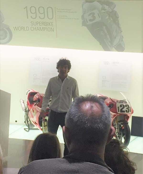 Alessandro Cicognani, Licenze Ducati