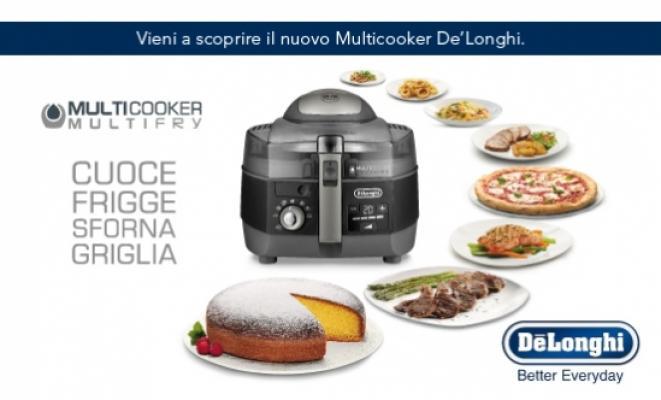 Multicooker di De'Longhi