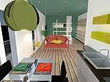 Progetto loft: una cucina open space
