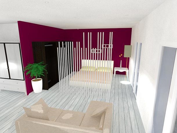 Progettare un mini appartamento in open space