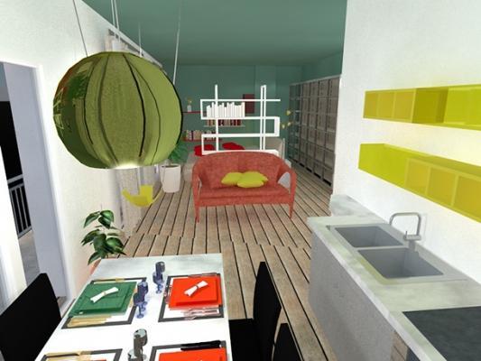 Loft open space