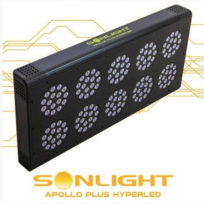 Pannello a led per la coltivazione indoor Hyperled Apollo PLUS di Sonlight
