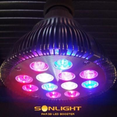 Lampada per coltivazione indoor Sonlight PAR38 LED Booster di Sonlight
