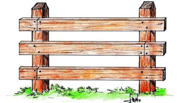 Recinzioni Per Giardino Casa.Recinzione In Legno Per Il Giardino