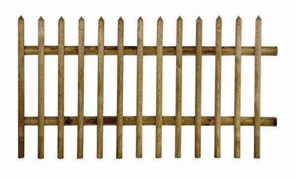 Steccato legno fisso in vendita da Leroy Merlin