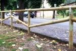 Staccionata Camaldoli Marinelli: essenziale divisorio per spazi esterni