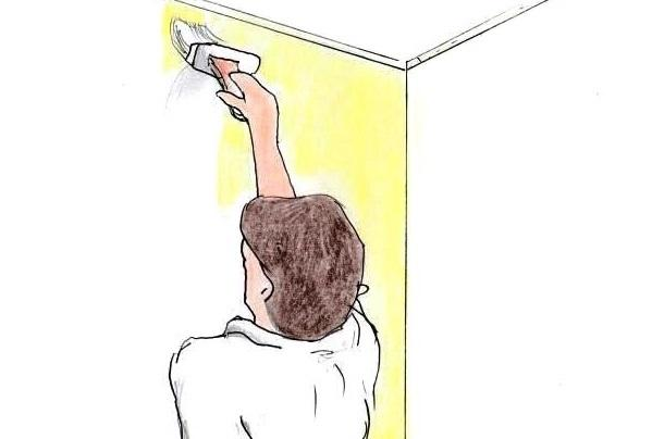 Dipingere le pareti di casa in fai da te