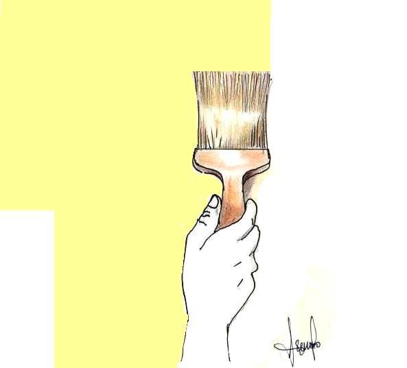 Dipingere le pareti interne: tecnica fai da te a pennello