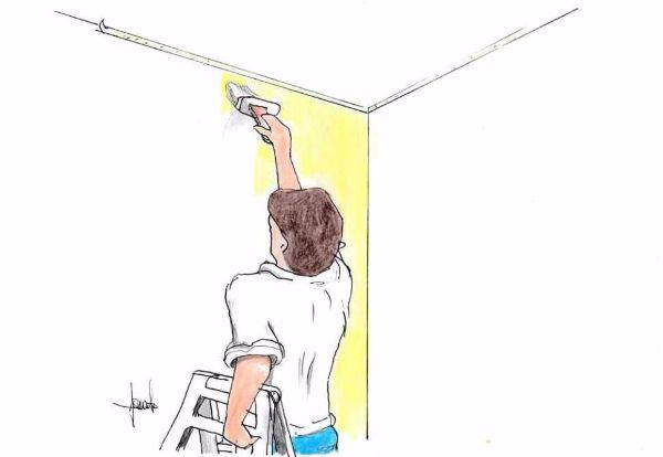 Dipingere le pareti di casa: tecniche fai da te