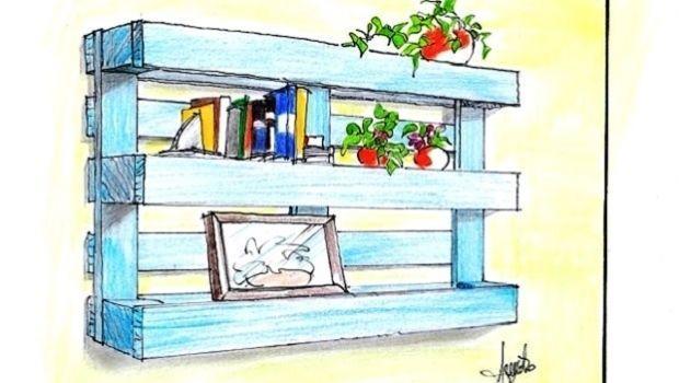 Costruire Mensole Per Libreria A Muro.Libreria Legno Fai Da Te