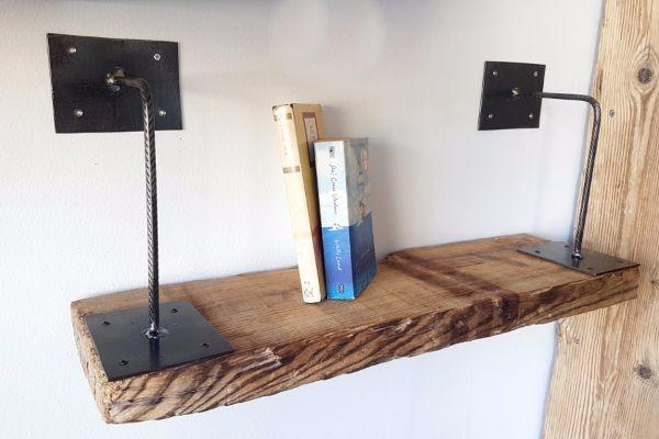 Mensola in legno di recupero, by Lapi