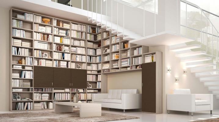 Libreria componibile sottoscala by Sololibrerie.it