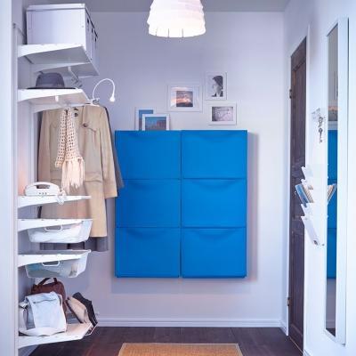 Arredamento ingresso: proposta colorata di IKEA