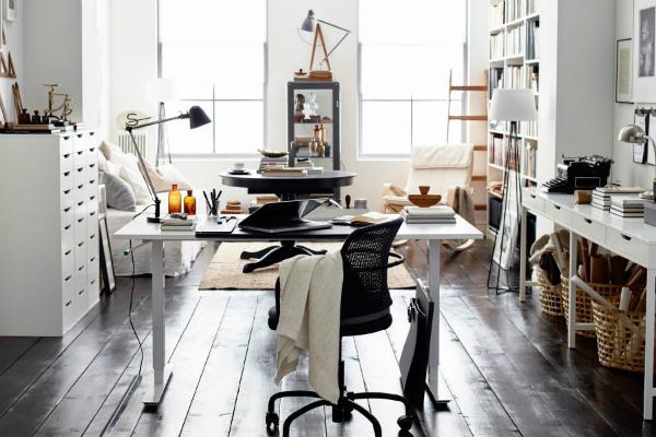 L 39 ufficio in casa soluzioni di arredo for Arredo studio ikea