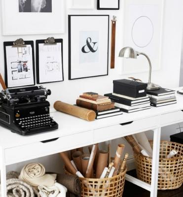 Ufficio in casa con proposte Ikea