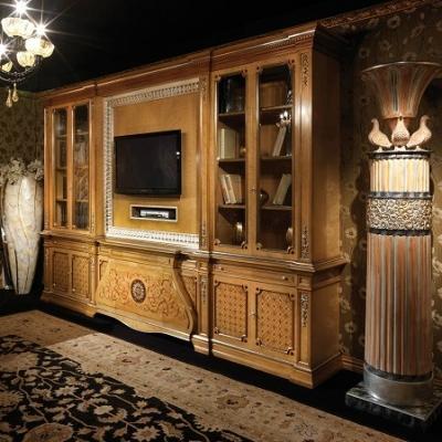 Studio in casa libreria classica by Bellotti Ezio