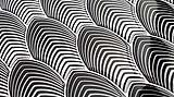 Black & White di Gemanco design: mosaici tridimensionali di resina in stile op-art