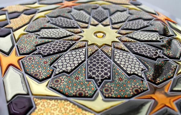 Mosaico tridimensionale Oriental di Gemanco Design