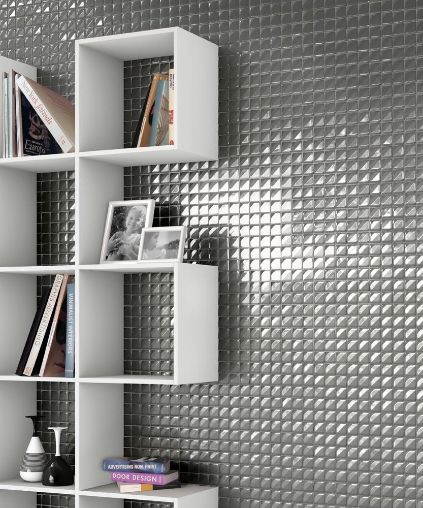 Modulo Nova della collezione di mosaici 3D Crono di Mosaico+