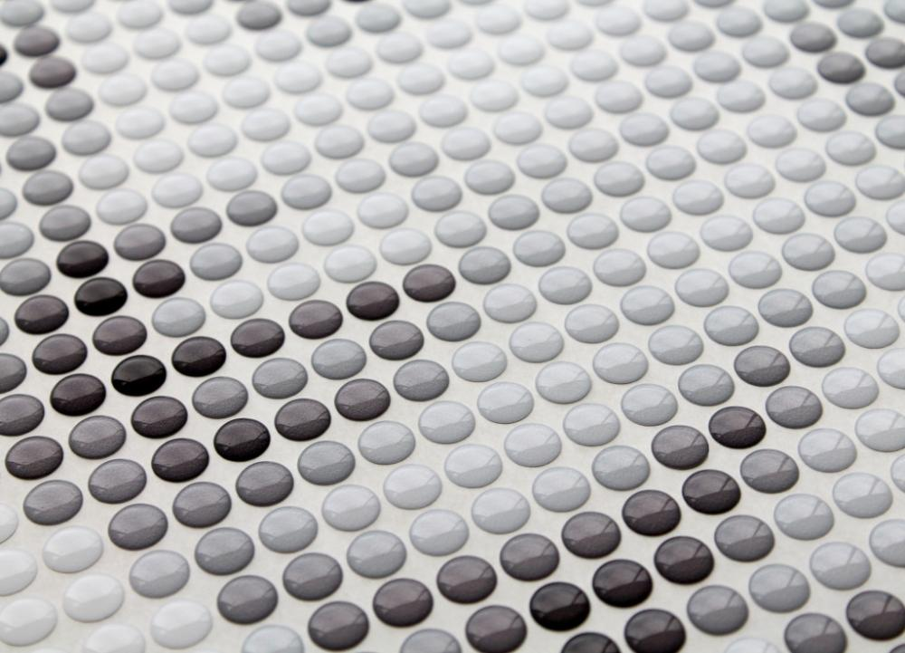 Mosaico tridimensionale in resina, Pixel di Gemanco Design