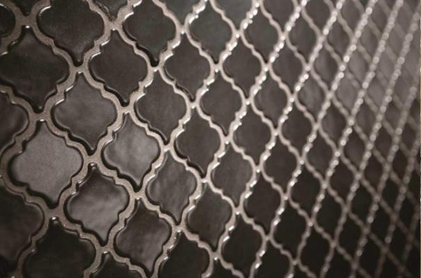 Mosaici in rilievo Art Nouveau di Arezia