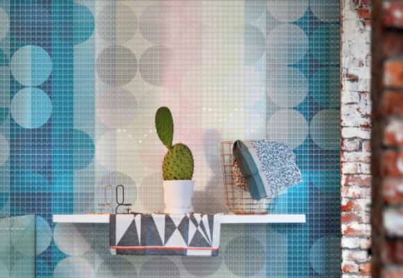 Mosaico tridimensionale in resina Claire Gaudion di Gemanco Design