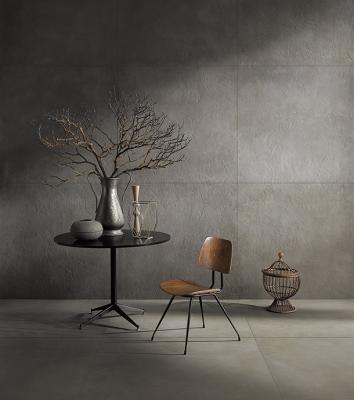 Pavimenti e rivestimenti ultrasottili effetto cemento DSG Ceramiche