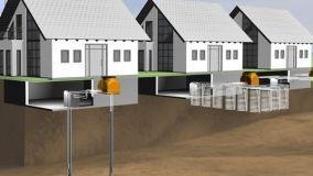 Impianto geotermico per la climatizzazione