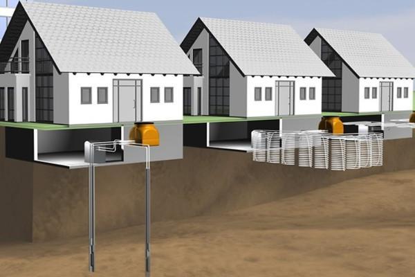 Impianto geotermico Rehau