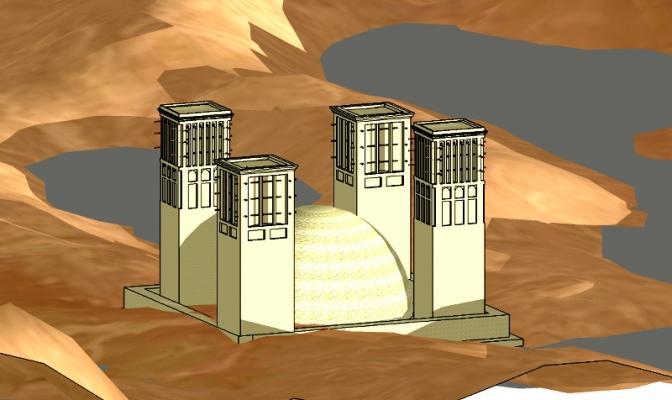 Climatizzazione ecologica: badgir Persiani
