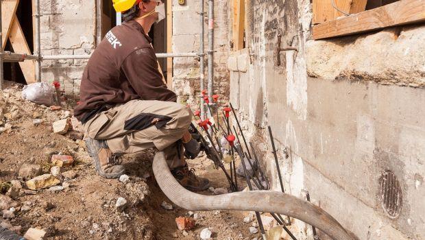 Il consolidamento delle fondazioni con le resine espandenti