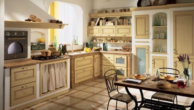 Quali elementi non devono mancare nelle cucine classiche e tradizionali?